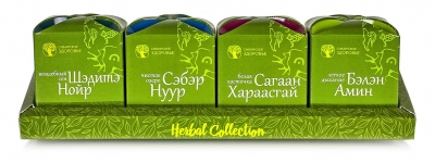 Herbal collection. Целебные травы Ольхона.